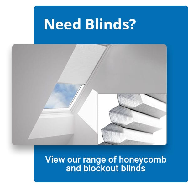 Velux Honeycomb & Blockout Blinds