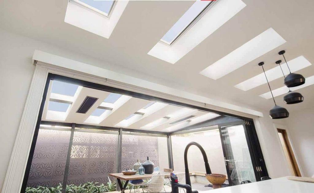 double glazed skylight